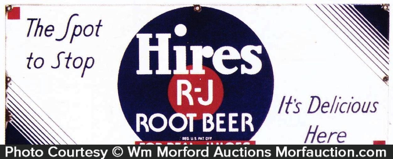 Hires R-J Root Beer Sign