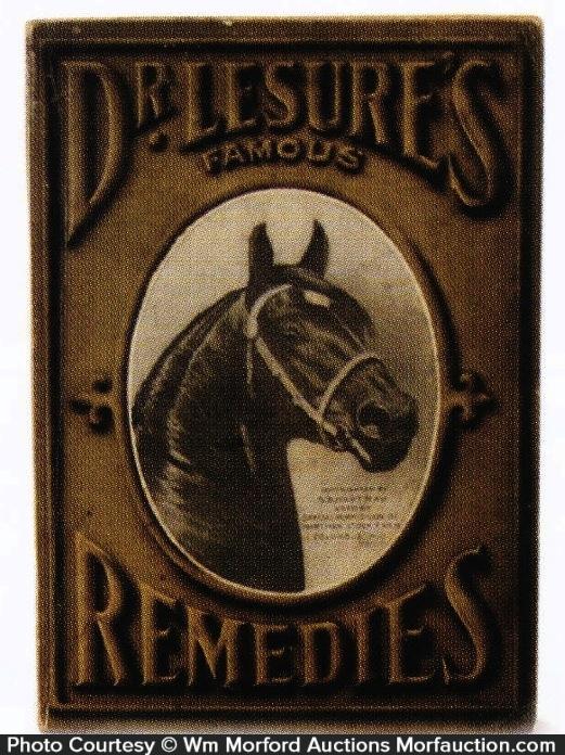 Dr. Lesure's Remedies Booklet
