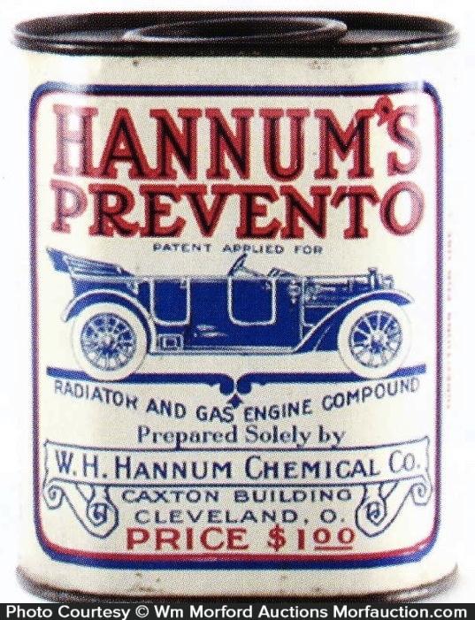 Hannum's Prevento Tin