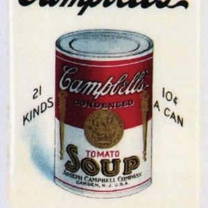 Campbell's Soup Pocket Mirror
