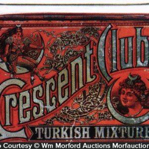 Crescent Club Turkish Tobacco Tin