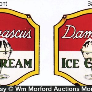 Damascus Ice Cream Sign