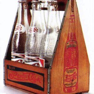 Pepsi Wooden Carrier