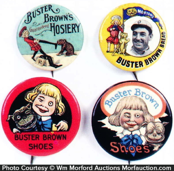 Buster Brown Pins