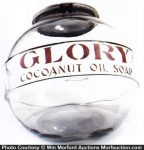 Glory Cocoanut Oil Soap Jar