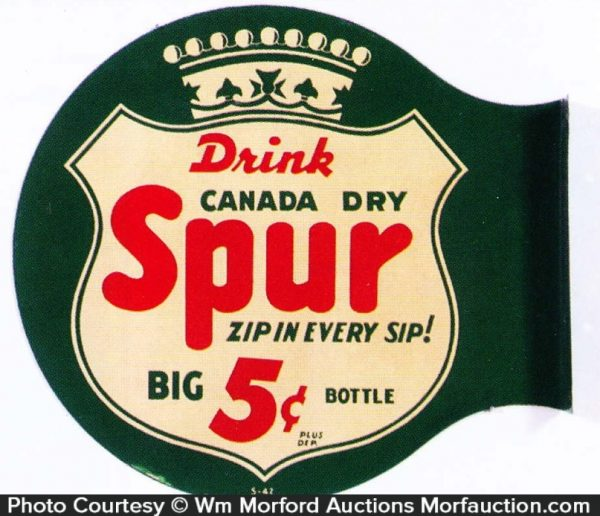 Canada Dry Spur Sign