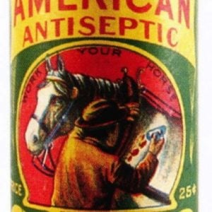 American Antiseptic Powder Tin