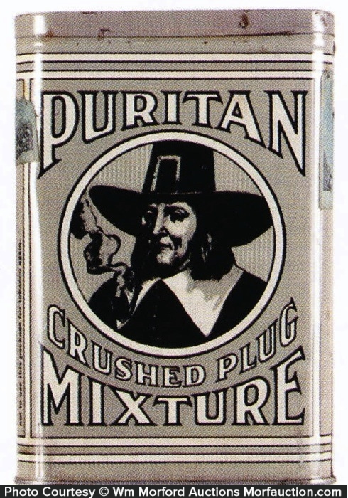 Puritan Tobacco Pocket Tin