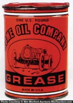 Home Oil Company Grease Tin