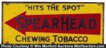 Spear Head Tobacco Sign