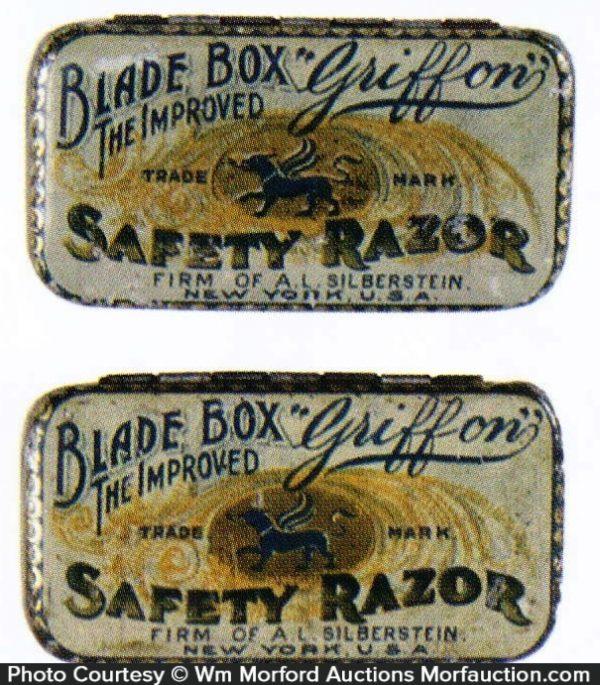 Griffon Safety Razor Tins