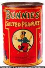 Bunnies Peanut Tin