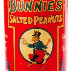 Bunnies Peanut Tin
