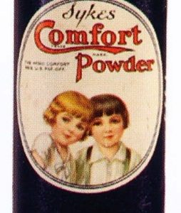 Syke's Comfort Powder Tin