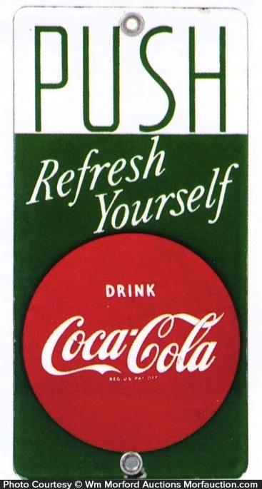 Coca-Cola Door Push