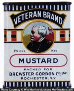Veteran Brand Spice Tin