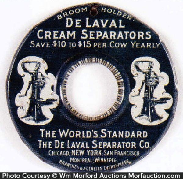Delaval Cream Separators Broom Holder