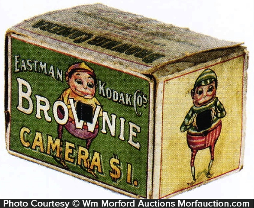 Kodak Brownie Camera Antique Advertising