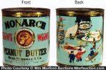 Monarch Teenie Weenie Peanut Butter Tin