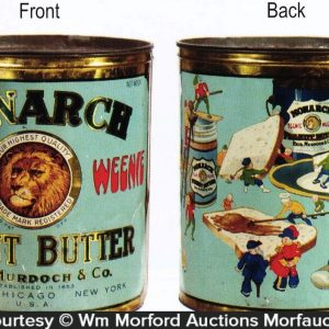 Monarch Teenie Weenie Peanut Butter Tin