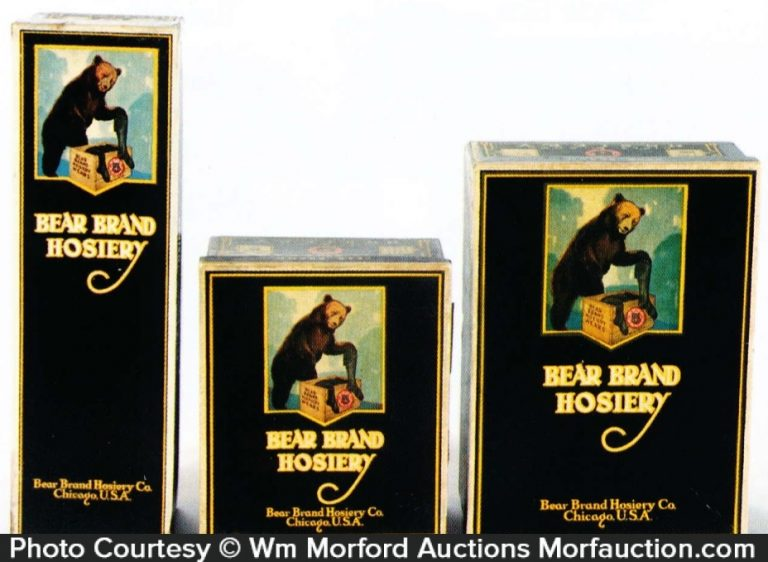 Bear Hosiery Boxes