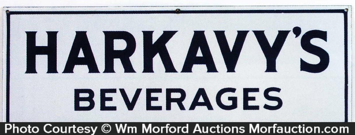 Harkavy's Beverages Sign