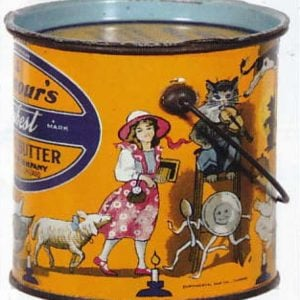 Armour's Peanut Butter Pail