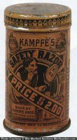 Kampfe's Safety Razor Tin