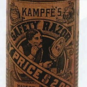 Kampfe's Safety Razor Tin