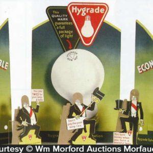 Sylvania Hygrade Light Bulbs Display