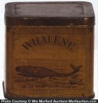Whalene Axle Grease Tin
