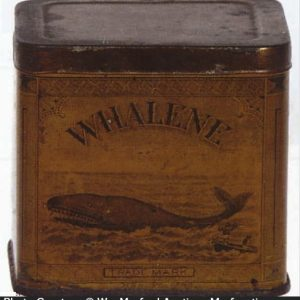 Whalene Axle Grease Tin