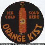 Orange Kist Bottle Sign