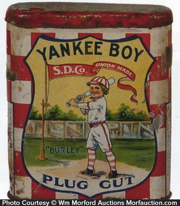 Yankee Boy Plug Cut Tobacco Tin