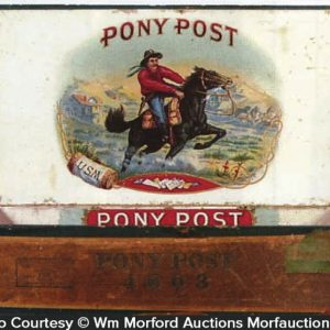 Pony Post Cigar Box