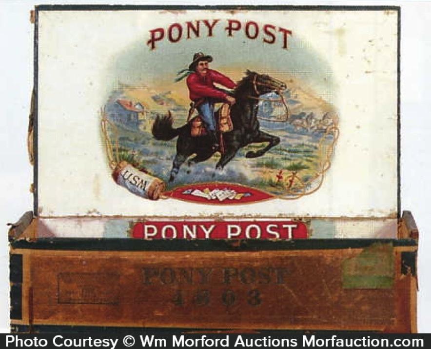 Pony Post Cigar Box