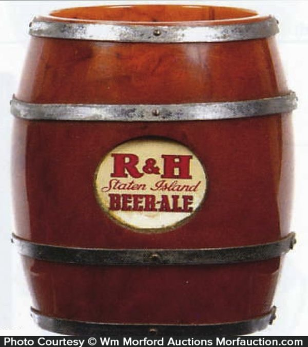 R & H Beer Bakelite Scraper Holder