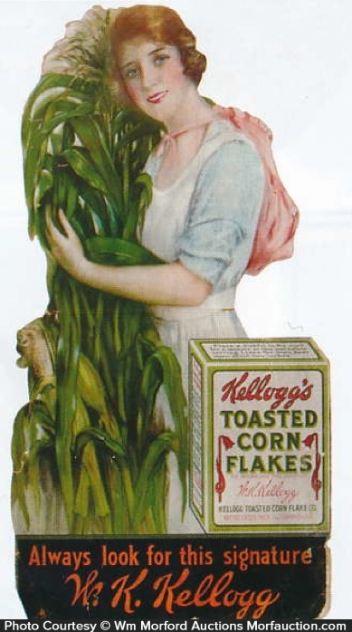 Kellogg's Corn Flakes Sign