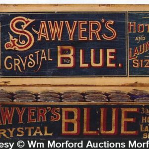 Sawyer's Crystal Blue Display Box