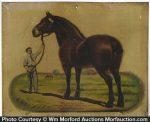 Dr. Legear's Giant Horse Sign