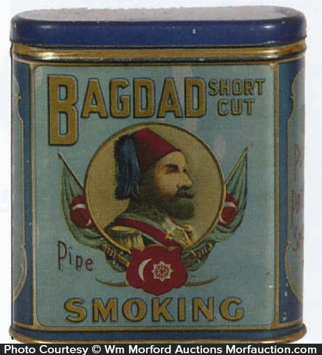 Bagdad Pipe Smoking Tobacco Tin