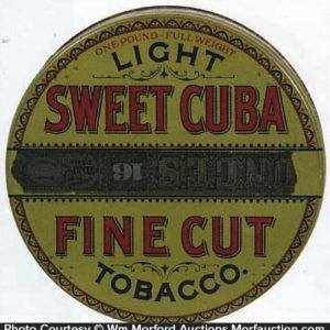 Sweet Cuba Light Tobacco Tin