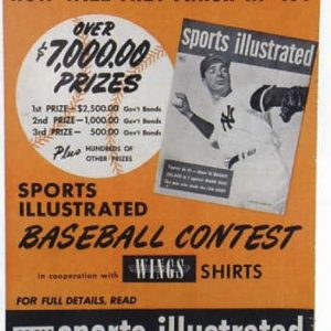 Sports Illustrated Joe Dimaggio Sign