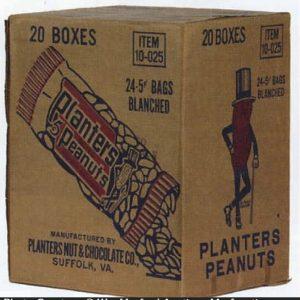 Planters Peanuts Box