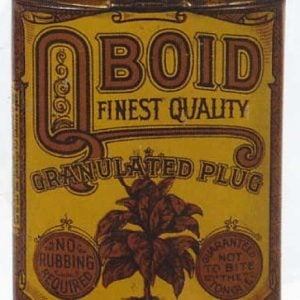 Qboid Finest Tobacco Tin