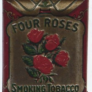 Four Roses Smoking Tobacco Tin