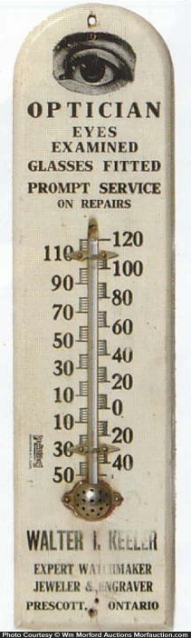 Keeler Optician Thermometer