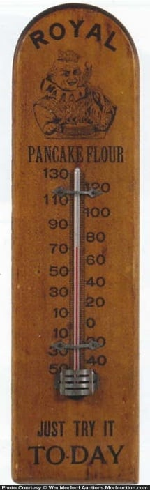 Royal Pancake Flour Thermometer