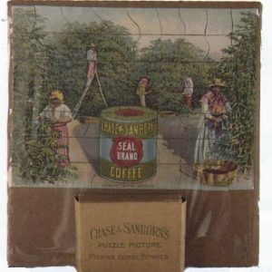 Chase & Sanborn Seal Coffee Puzzle