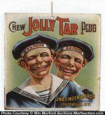 Jolly Tar Tobacco Sign